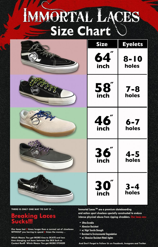 Immortal Laces_Size_Chart